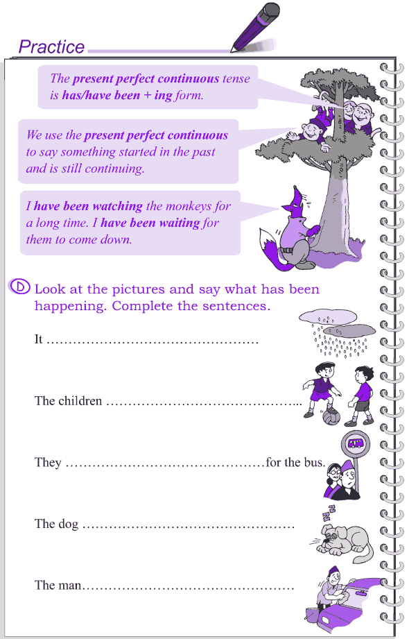 Grade 4 Grammar Lesson 18 The present tense (9)
