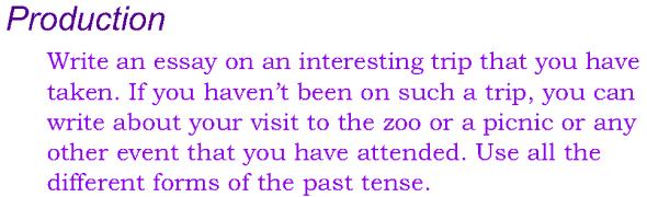 Grade 4 Grammar Lesson 19 The past tense (8)