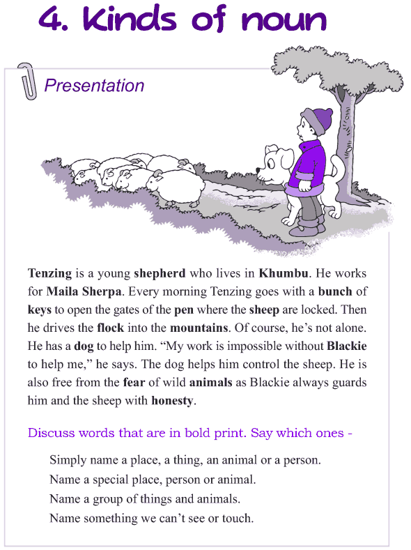 Grade 4 Grammar Lesson 4 Kinds of nouns