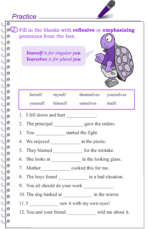 Grade 4 Grammar Lesson 8 Kinds of pronouns (5)