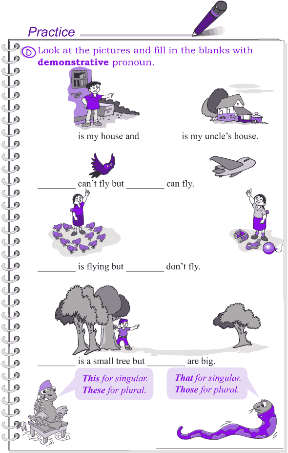 Grade 4 Grammar Lesson 8 Kinds of pronouns (6)