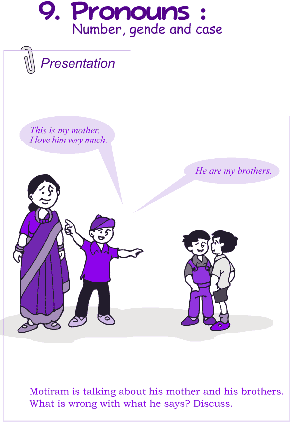 Grade 4 Grammar Lesson 9 Pronouns - number, gender and case (1)