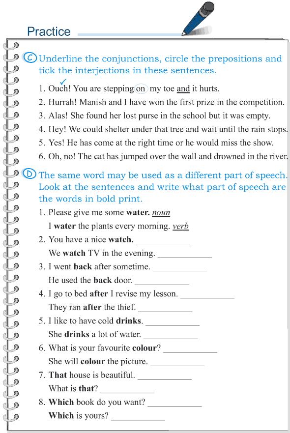 Grade 5 Grammar Lesson 1 Parts of speech (4)