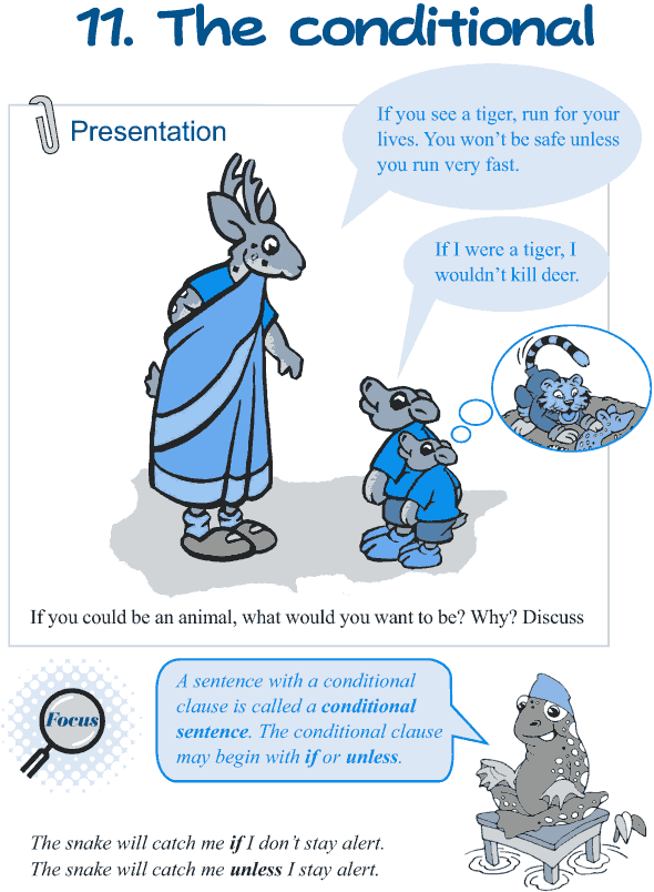 Grade 5 Grammar Lesson 11 The conditional