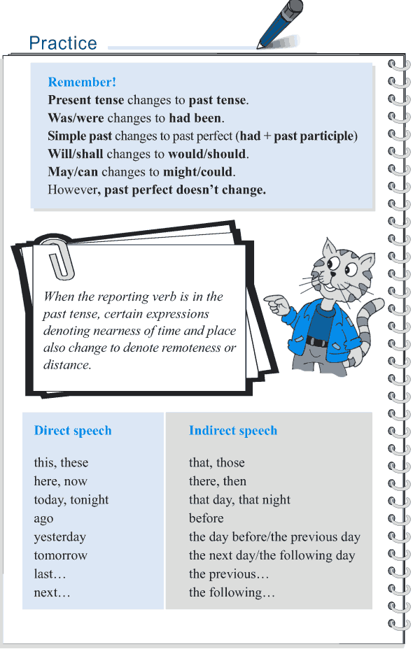 Grade 5 Grammar Lesson 14 Speech direct and indirect (6)
