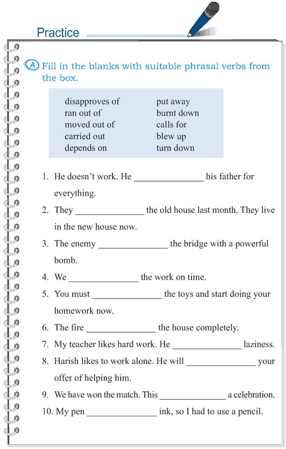 Grade 5 Grammar Lesson 15 Phrasal verbs (3)
