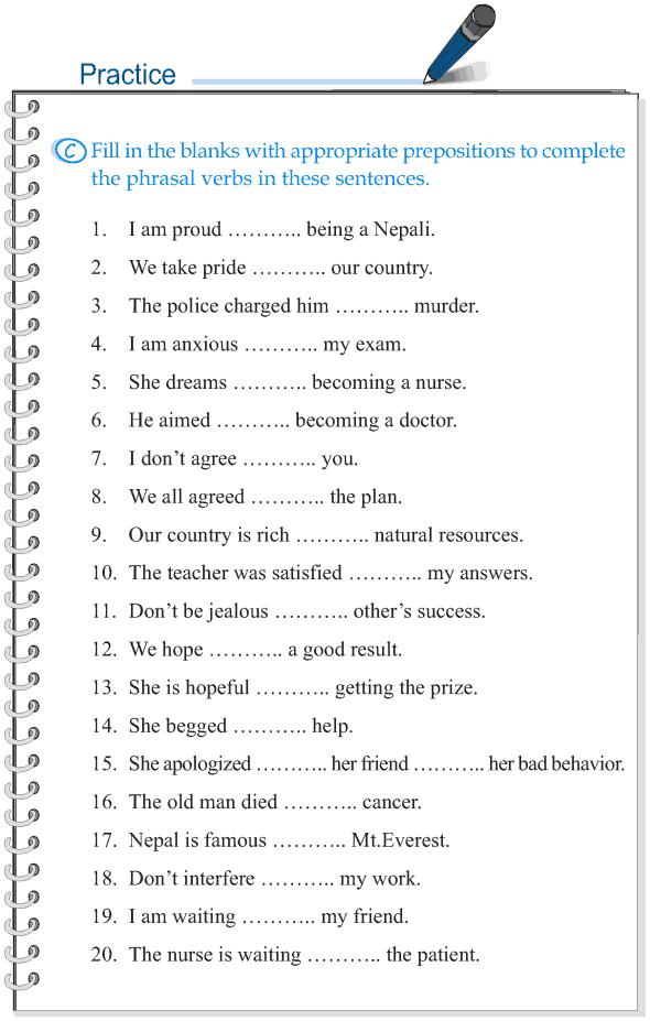 Grade 5 Grammar Lesson 15 Phrasal verbs (5)