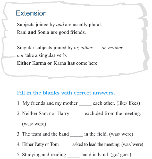 Grade 5 Grammar Lesson 2 Subject-verb agreement (5)