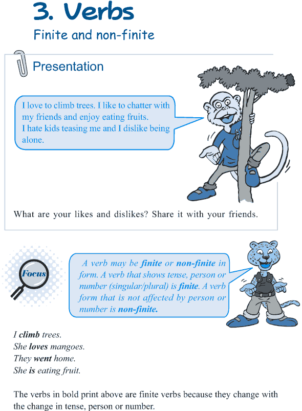 Grade 5 Grammar Lesson 3 Verbs finite and non-finite (1)
