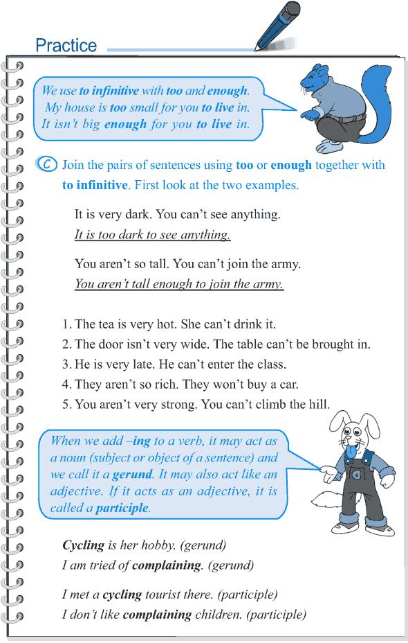 Grade 5 Grammar Lesson 3 Verbs finite and non-finite (6)