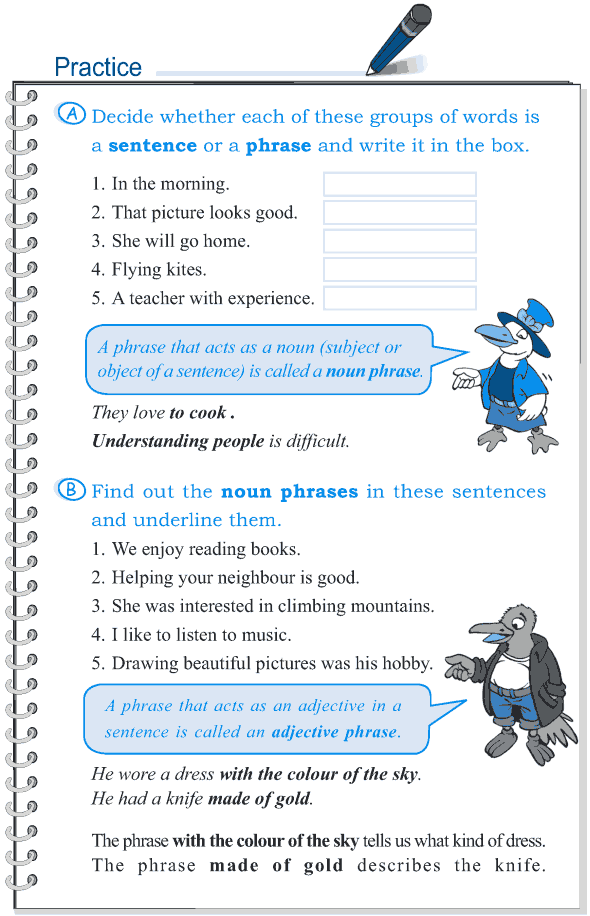 Grade 5 Grammar Lesson 4 The phrase (2)