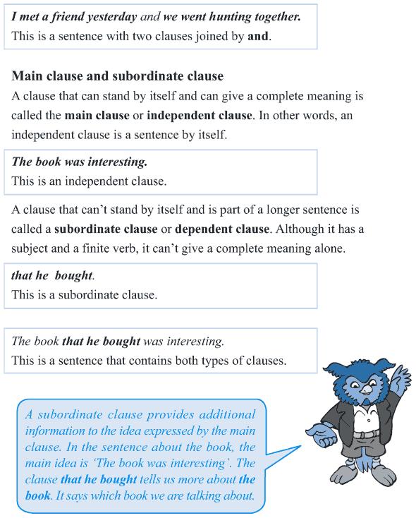 Grade 5 Grammar Lesson 5 Clauses (2)
