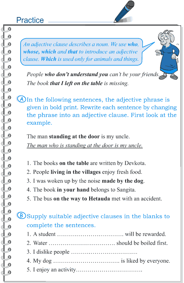 Grade 5 Grammar Lesson 5 Clauses (3)
