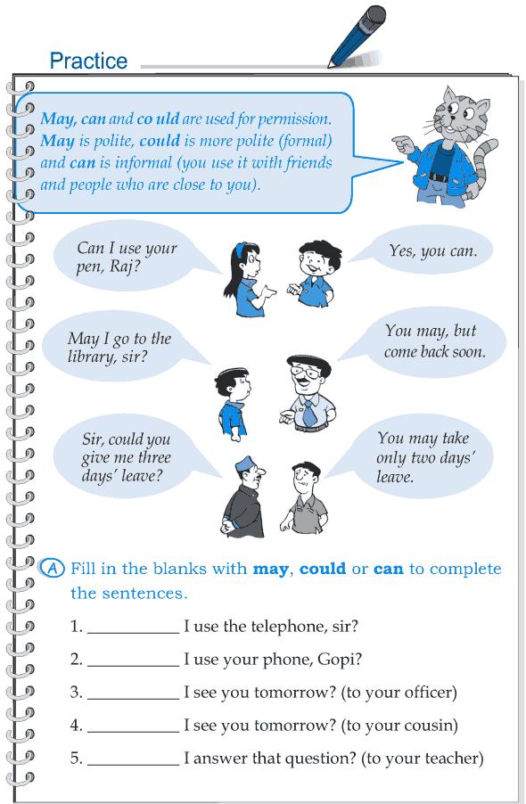Grade 5 Grammar Lesson 7 Modal verbs (3)