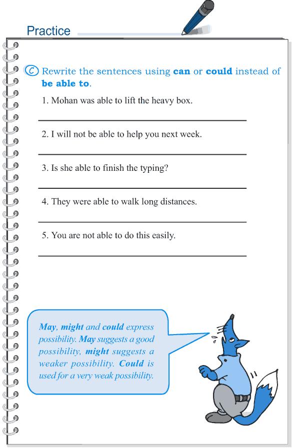 Grade 5 Grammar Lesson 7 Modal verbs (5)