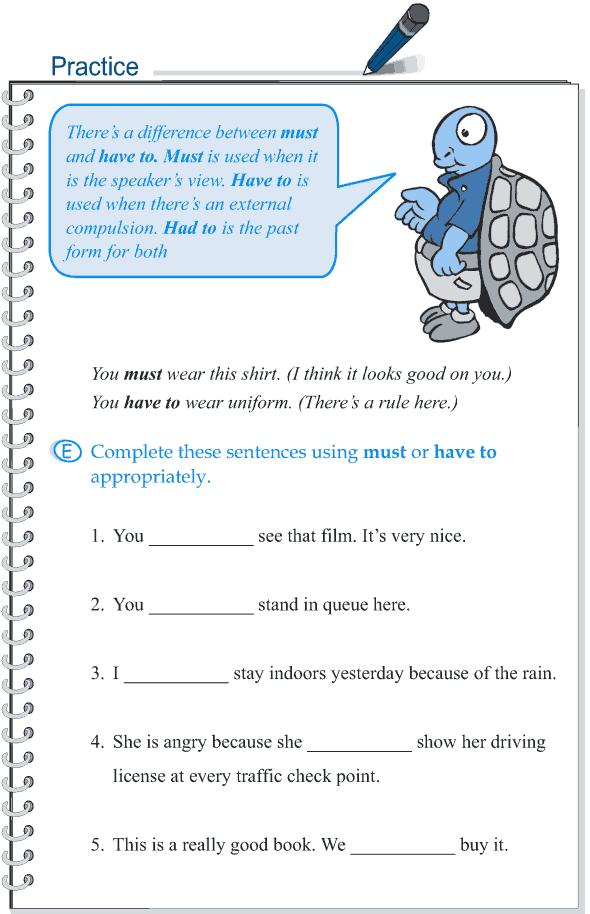 Grade 5 Grammar Lesson 7 Modal verbs (7)