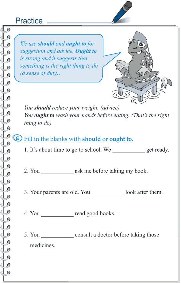 Grade 5 Grammar Lesson 7 Modal verbs (9)