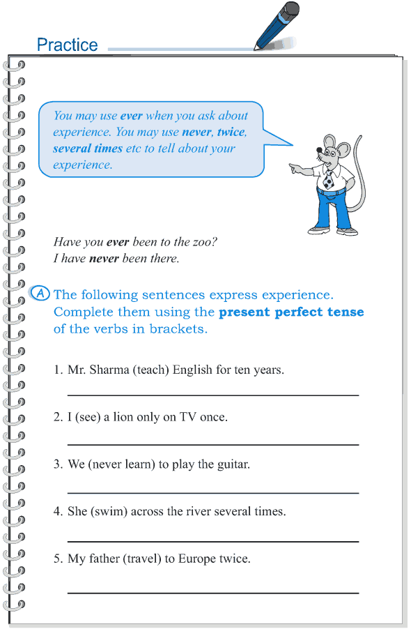 Grade 5 Grammar Lesson 9 Tense simple past and present perfect (3)