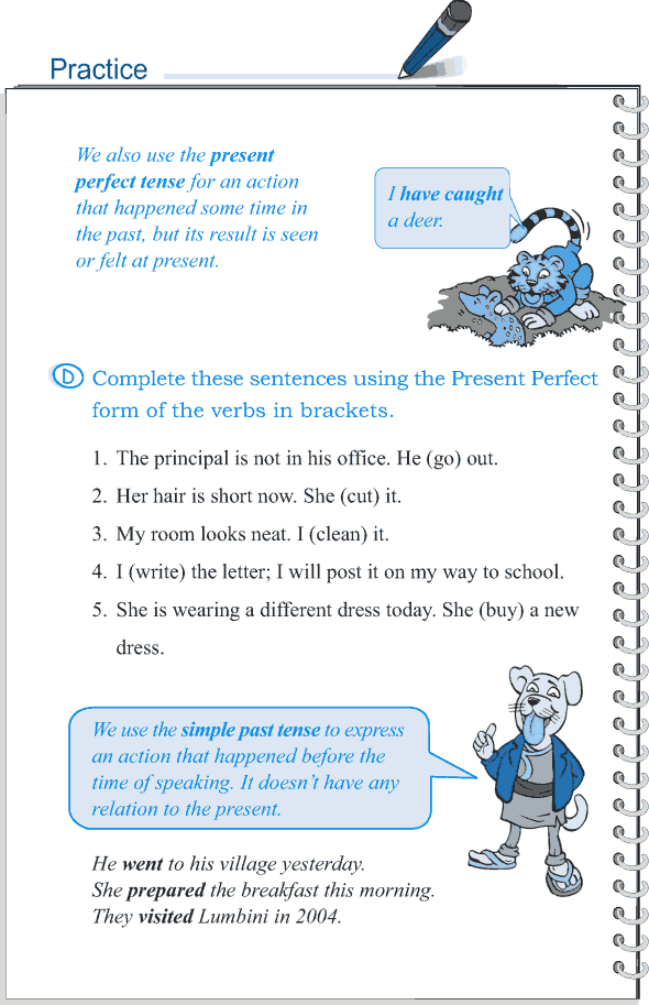 Grade 5 Grammar Lesson 9 Tense simple past and present perfect (6)