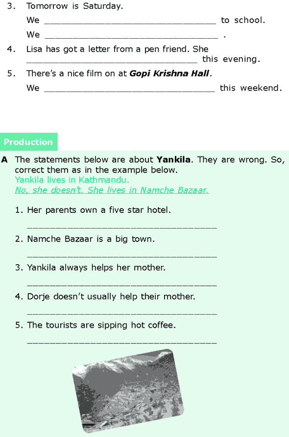 Grade 6 Grammar Lesson 1 The simple present and the present continuous (5)