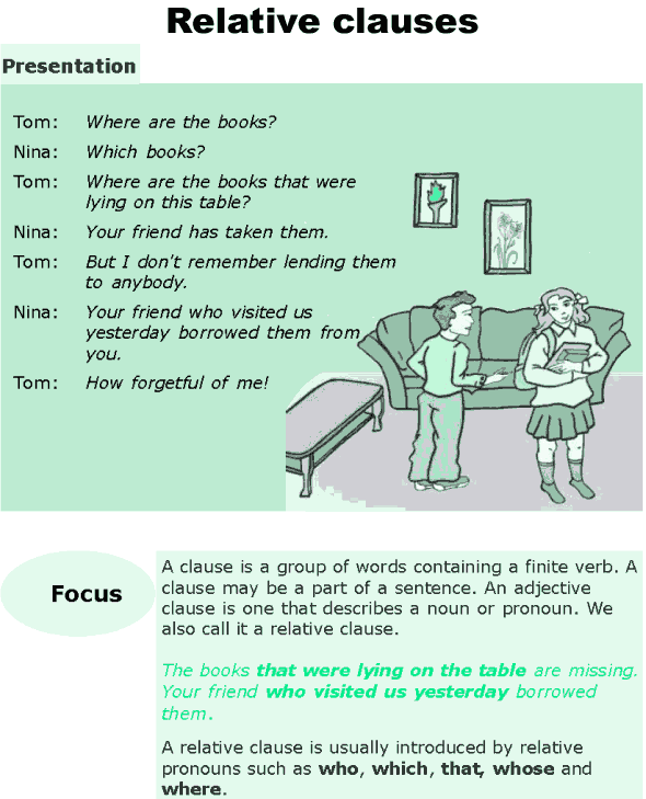 Grade 6 Grammar Lesson 10 Relative clauses (0)