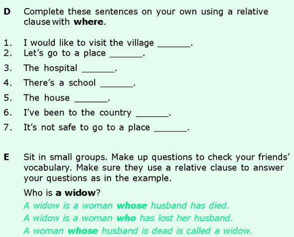 Grade 6 Grammar Lesson 10 Relative clauses (7)