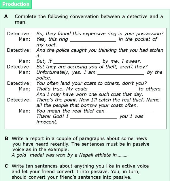 Grade 6 Grammar Lesson 11 Active and passive voice (4)