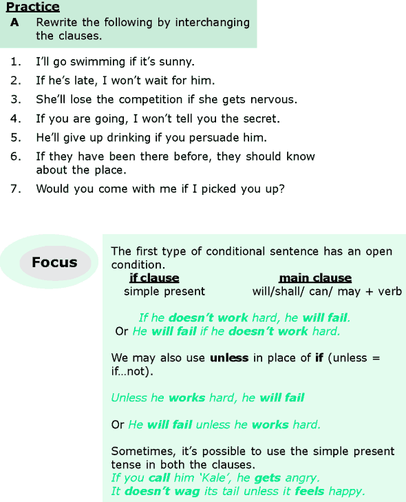 Grade 6 Grammar Lesson 12 Conditional sentences (1)