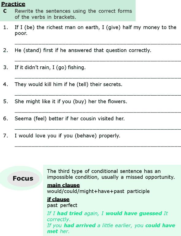 Grade 6 Grammar Lesson 12 Conditional sentences (3)
