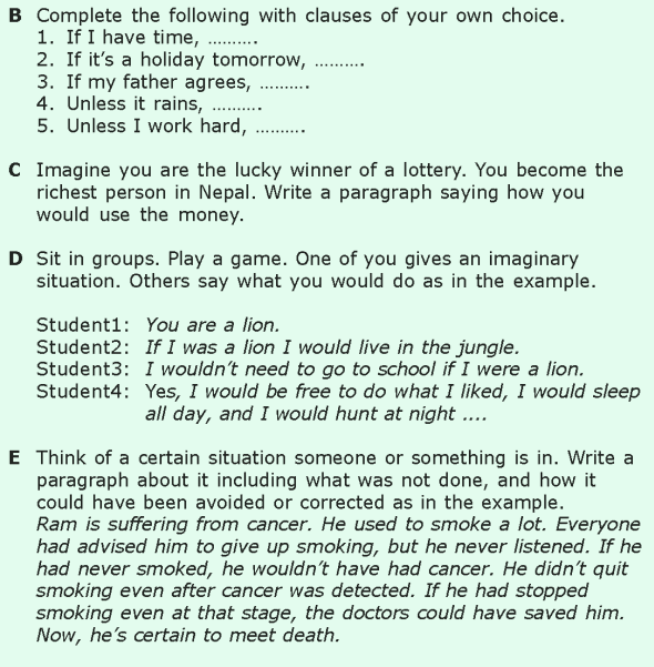 Grade 6 Grammar Lesson 12 Conditional sentences (5)