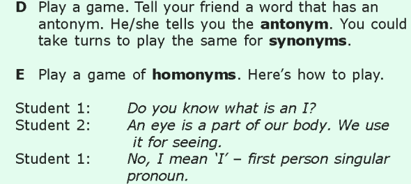 Grade 6 Grammar Lesson 14 Antonyms, synonyms and homonyms (4)