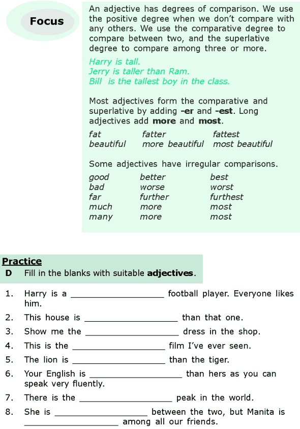 Grade 6 Grammar Lesson 15 Adjectives and adverbs (4)