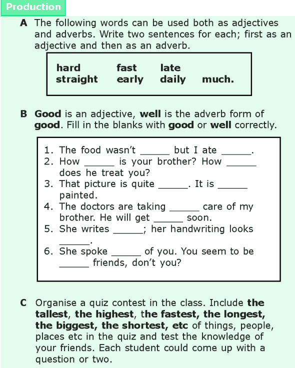 Grade 6 Grammar Lesson 15 Adjectives and adverbs (6)