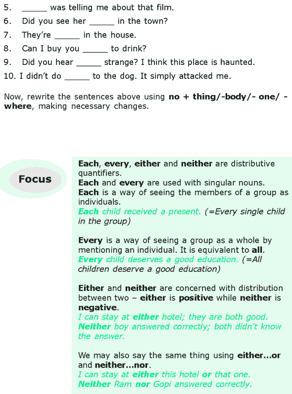 Grade 6 Grammar Lesson 16 Quantifiers (5)