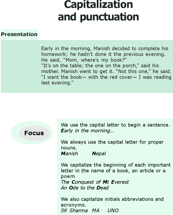 Grade 6 Grammar Lesson 17 Capitalization and punctuations (0)
