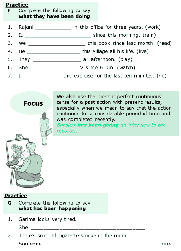 Grade 6 Grammar Lesson 2 The present perfect and the present perfect continuous (5)