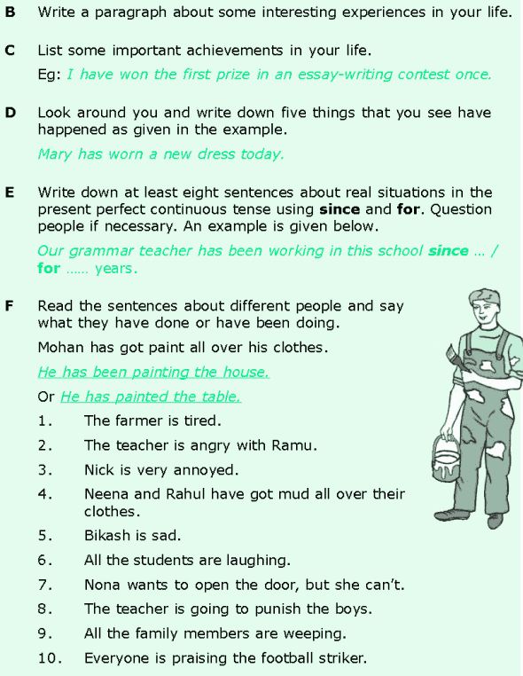 Grade 6 Grammar Lesson 2 The present perfect and the present perfect continuous (7)