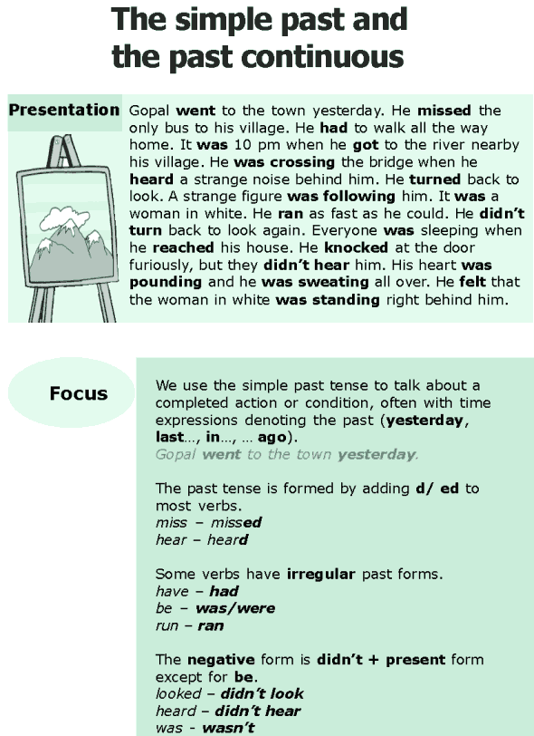 Grade 6 Grammar Lesson 3 The simple past and the past continuous (0)