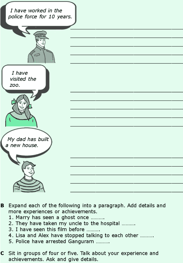 Grade 6 Grammar Lesson 4 The simple past and the present continuous (4)