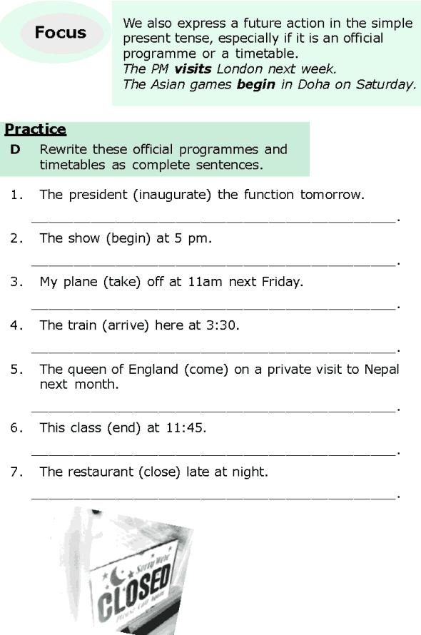 Grade 6 Grammar Lesson 5 Expressing the future (4)