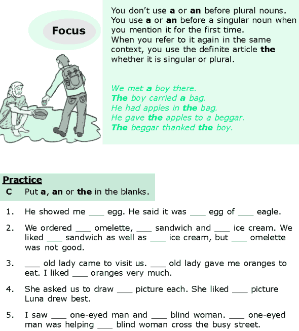 Grade 6 Grammar Lesson 6 Articles and nouns (2)