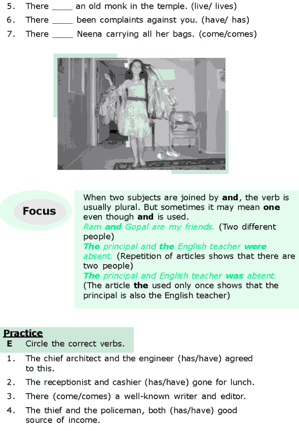 Grade 6 Grammar Lesson 7 Subject-verb agreement (3)