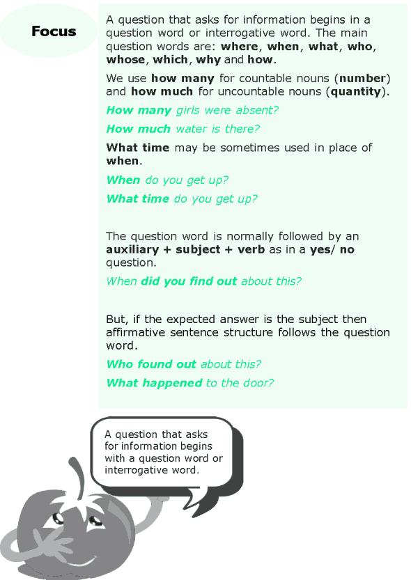 Grade 6 Grammar Lesson 8 Questions (2)