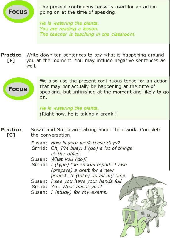 Grade 7 Grammar Lesson 1 The present tense (4)