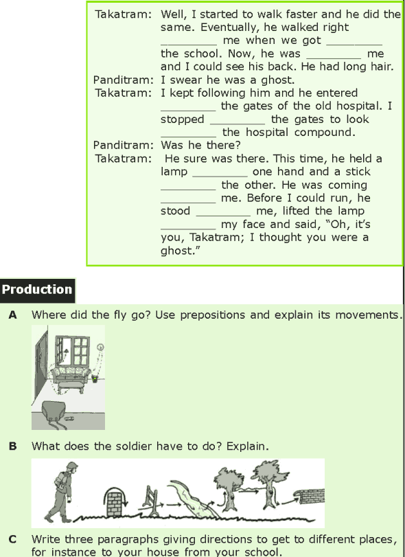 Grade 7 Grammar Lesson 15 Prepositions of location and direction (6)