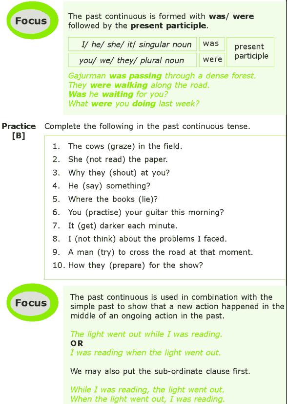 Grade 7 Grammar Lesson 2 The past tense (1)