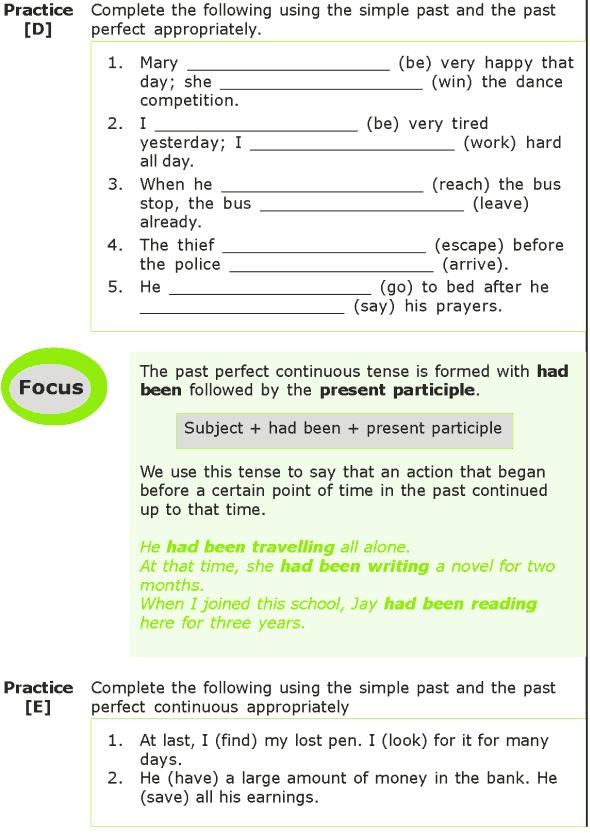 Grade 7 Grammar Lesson 2 The past tense (3)