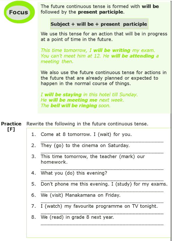 Grade 7 Grammar Lesson 3 The future tense (4)