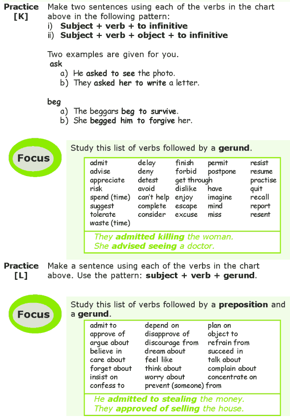 Grade 7 Grammar Lesson 4 Verbs non-finite forms (7)