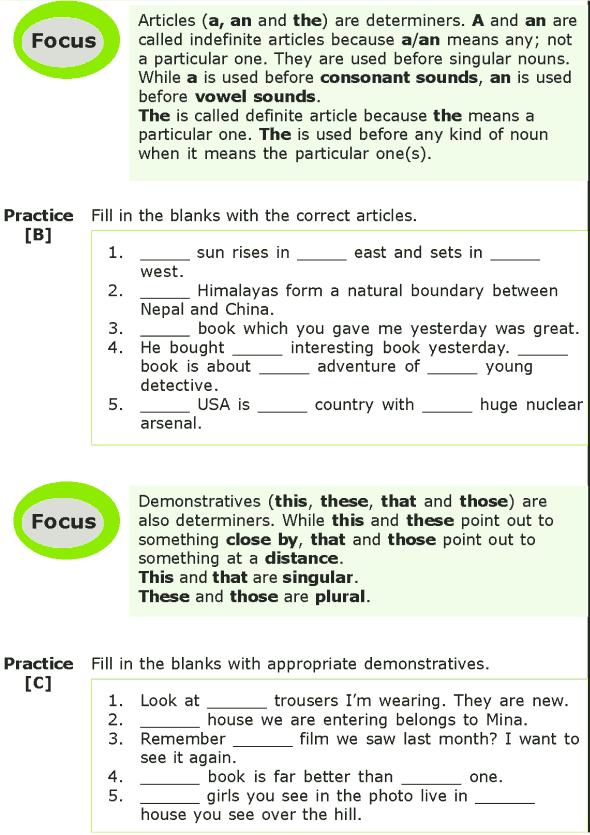Grade 7 Grammar Lesson 5 Determiners (1)